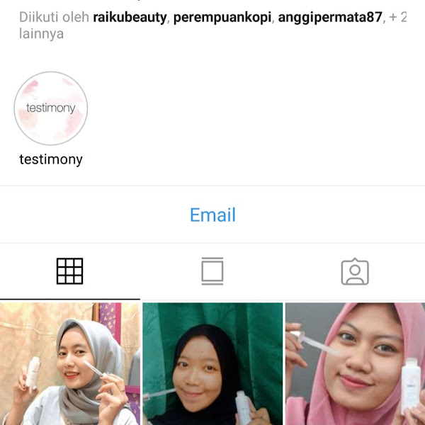 Riview rangkaian skin care Brightening series dari RAIKU BEAUTY
