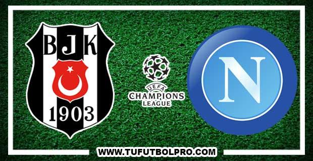 Ver Besiktas vs Napoli EN VIVO Por Internet Hoy 1 de Noviembre 2016
