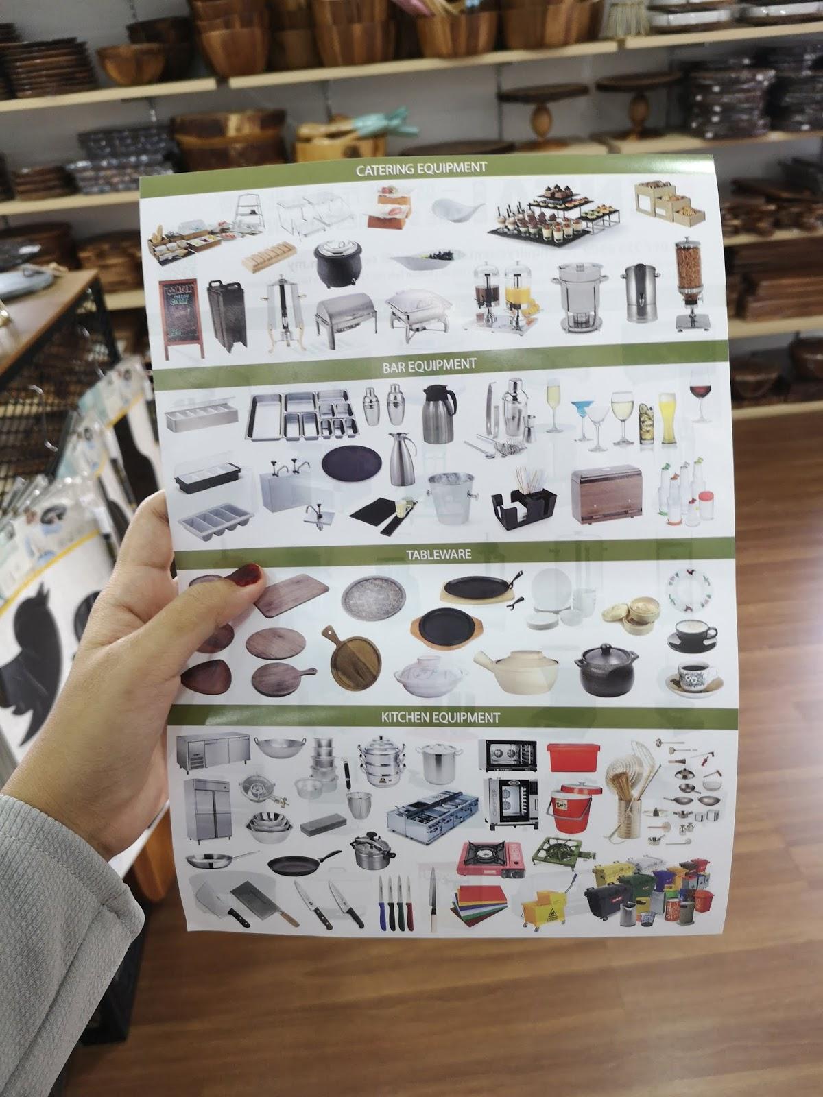 Sentai Perniagaan Yang Melibatkan Jualan Runcit Dan Borong Menumpukan Kepada Barang Kelengkapan Rumah Peralatan Restoran Harus