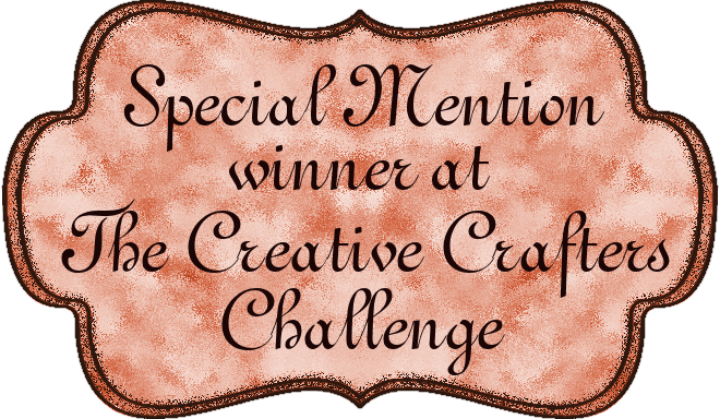 SPECIAL MENTION BADGE - FOR YOUNG CRAFTERS