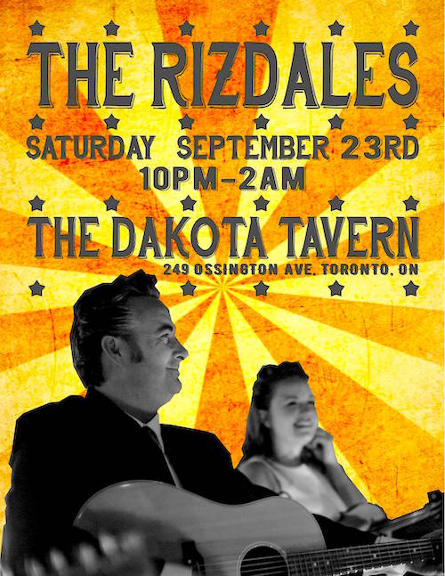 The Rizdales @ Dakota Tavern, Saturday