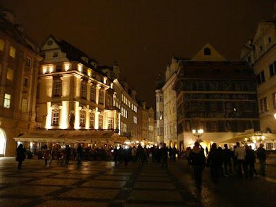 La vieille ville de Prague