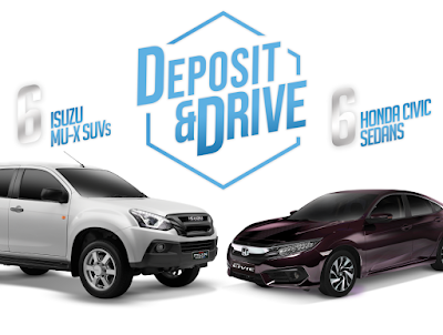Deposit and Drive with RCBC