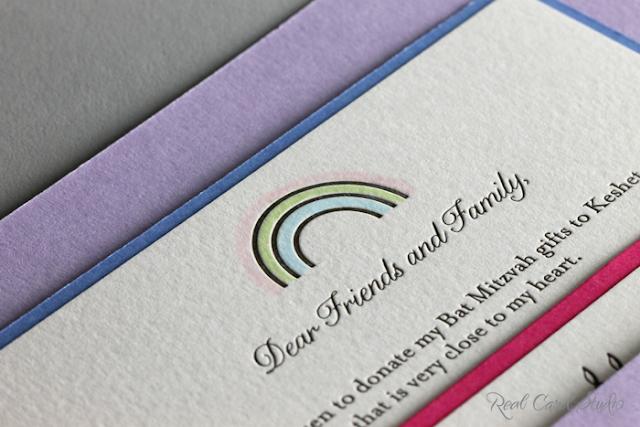 heart motif, pink, hand coloring, letterpress printing