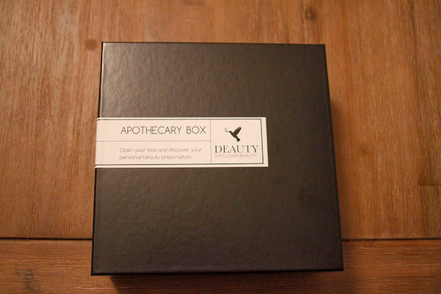 Deauty apothecary box - septembre 2013