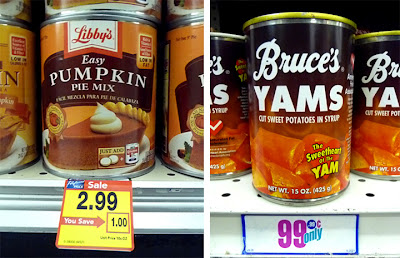 ... can of pumpkin and found out how expensive it is. Almost $3 a can