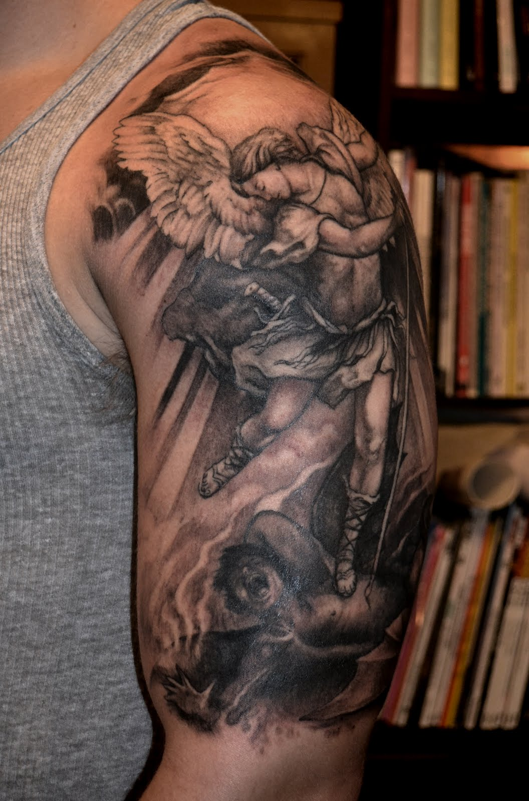 Archangel Michael Tattoos: Alchemy Tattoo Arts: St. Michael By Scott Trerrotola