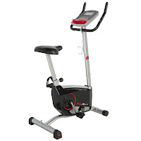 Fitness Reality 210 Upright Exercise Bike with 24 levels of magnetic resistance & 21 programs