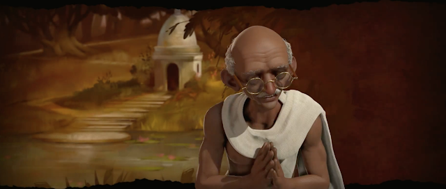 Gandhi liderará la india en Civilization VI