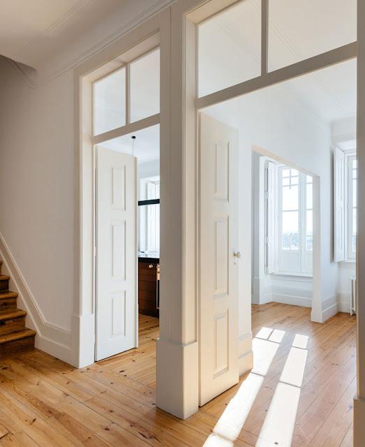 Дизайн-проекты. Современный дизайн исторической квартиры в Португалии