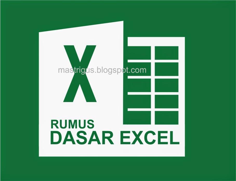 Rumus Dasar pada Microsoft  Excel 2013