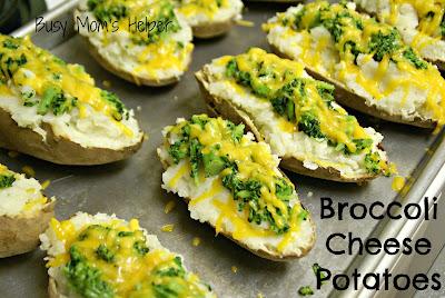 Broccoli Cheese Potatoes