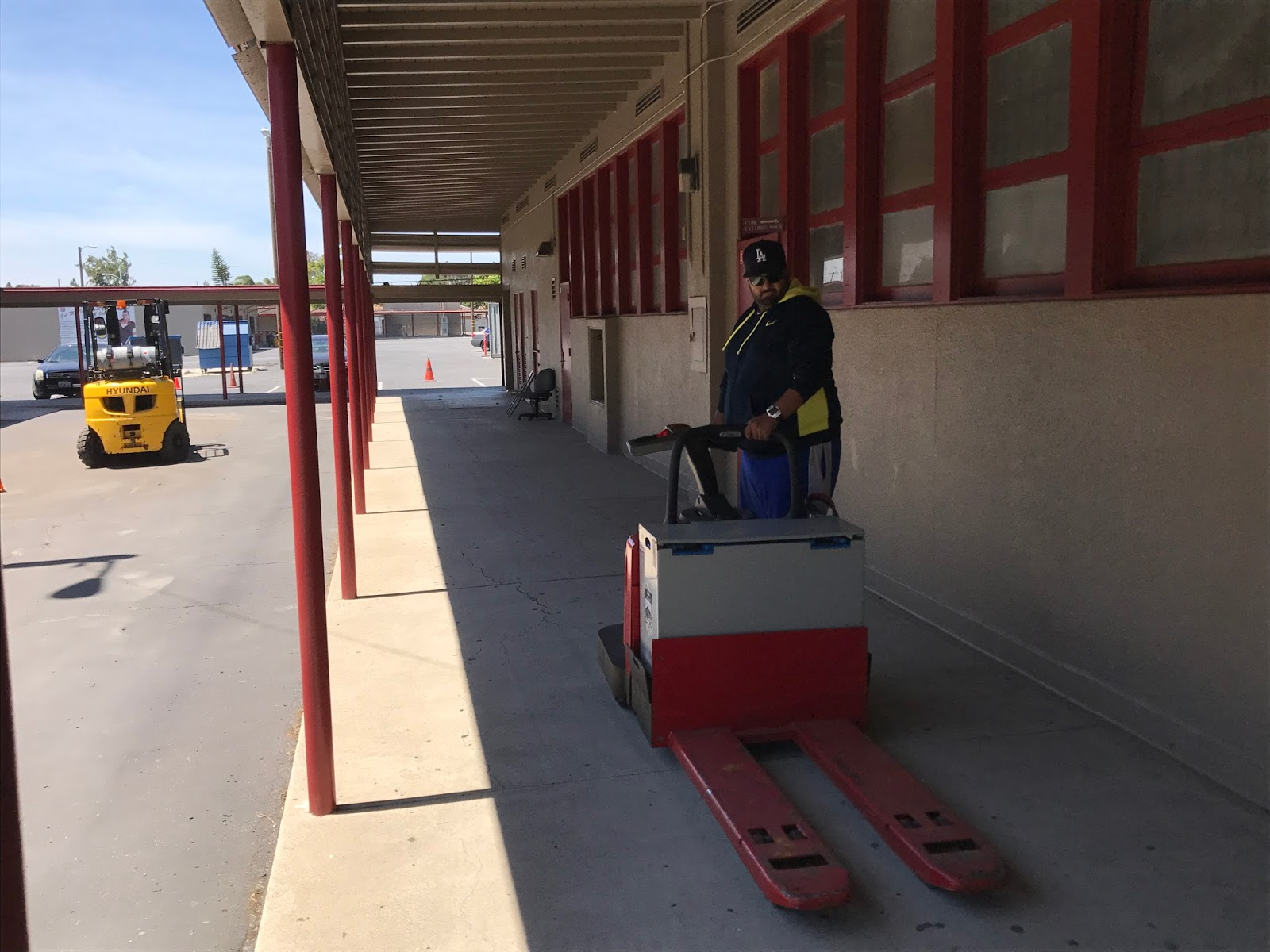 Interesting forklift paint job osha forklift training forklift operator training offered at compton adult school xflitez Image collections