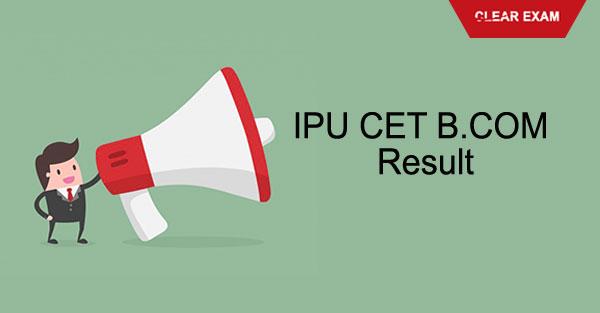 IPU CET B.Com Results