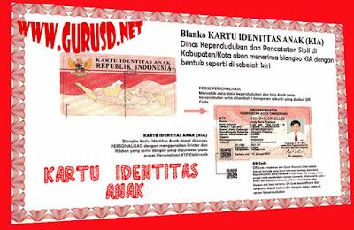 Kartu Identitas Anak(KIA) Berlaku Dari Usia 0-17 Tahun