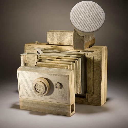 17-Polaroid-Land-Ching-Ching-Cheng-Vintage-Camera-Sculptures-Made-of-Books-and-Maps-www-designstack-co