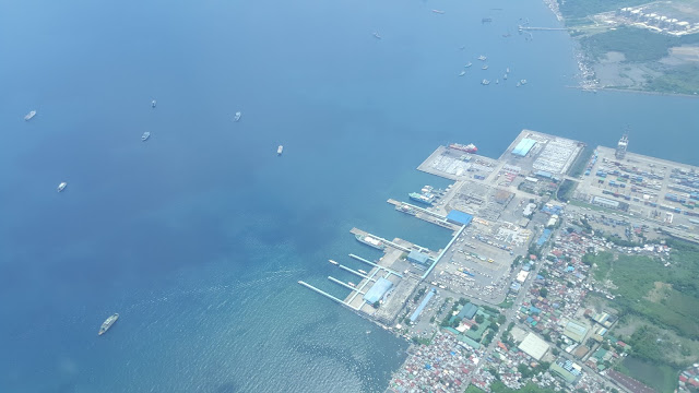 batangas port terminal from above