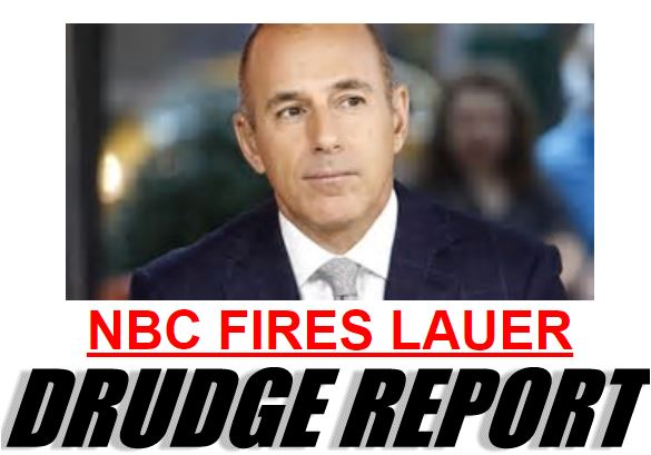 Lauer Fired