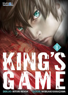 IVREA King's Game - Pack de 5 tomos
