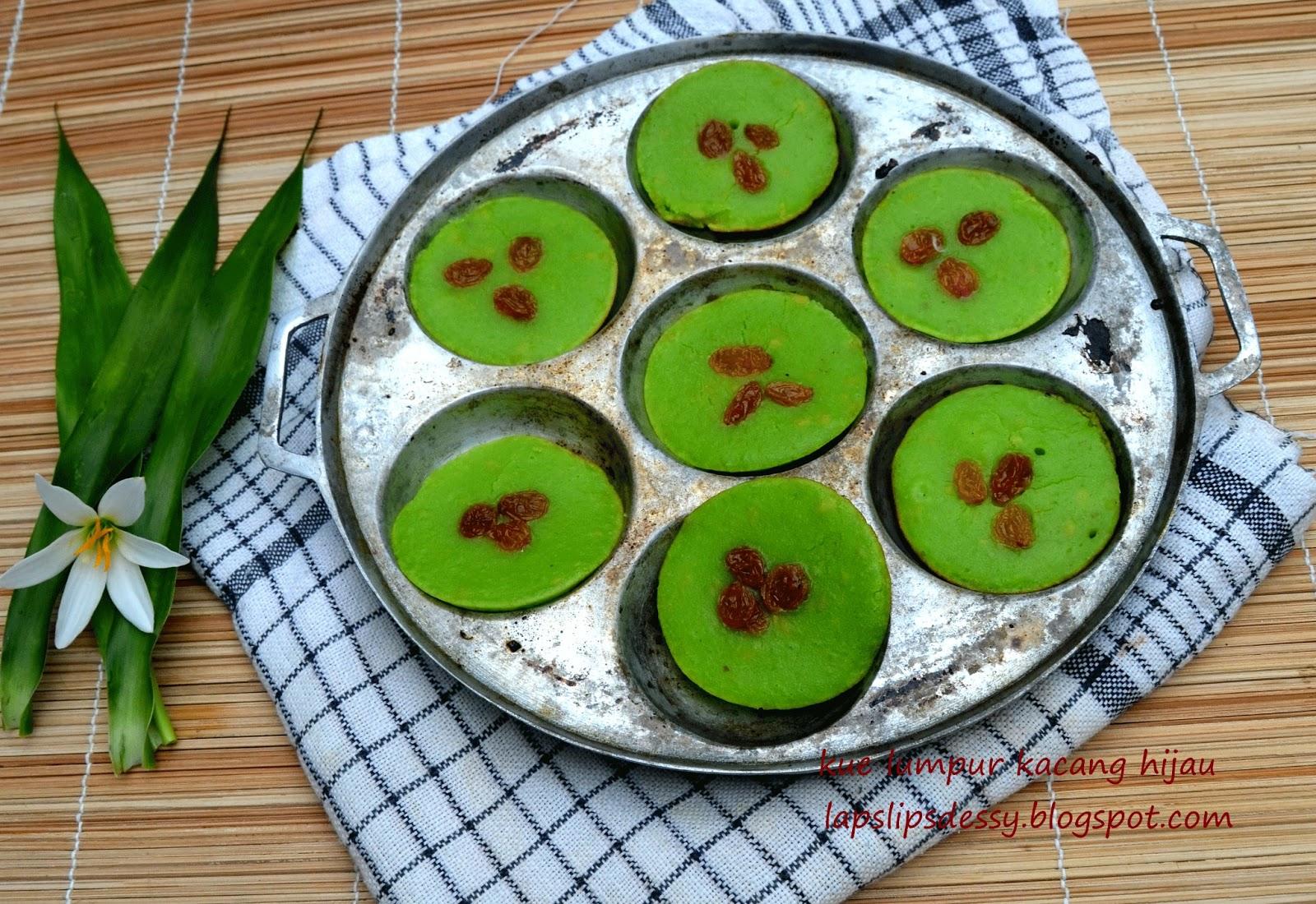 resep kue lumpur kacang hijau