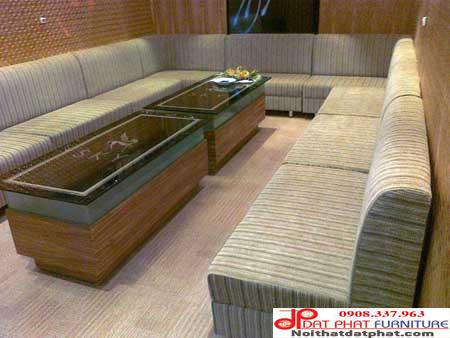 Mẫu ghế sofa karaoke thông dụng