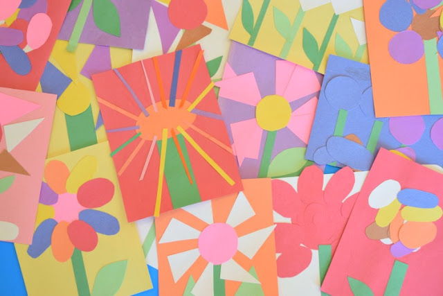 Fine Motor Spring Flower Craft For Kids