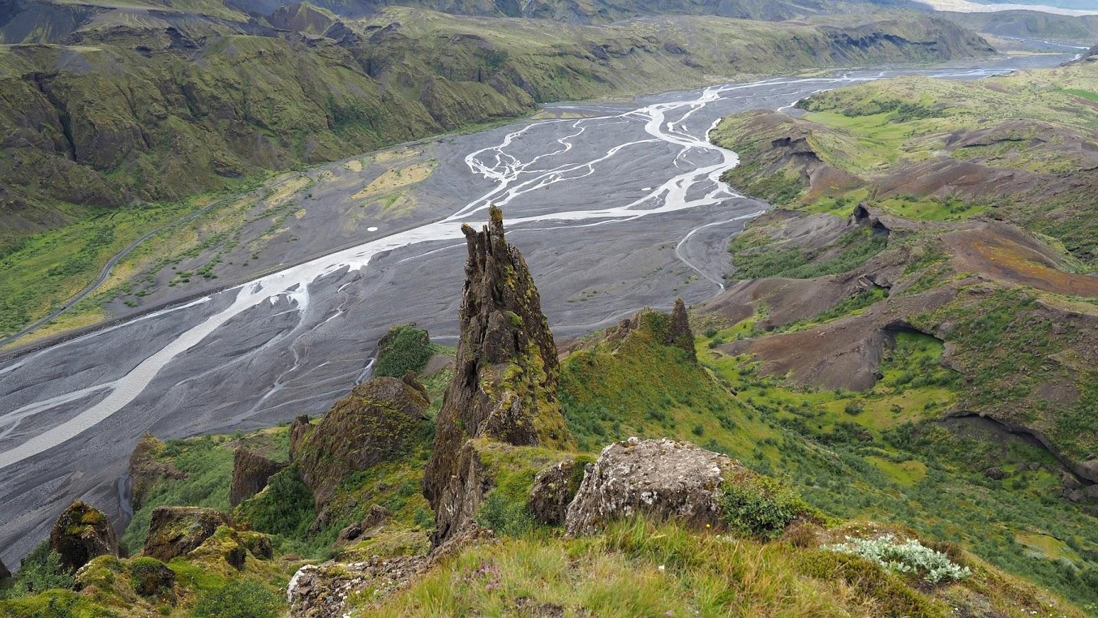 Thorsmork, parn narodowy Thorsmork, Islandia