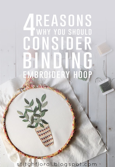 4 reasons why you should consider binding embroidery hoop