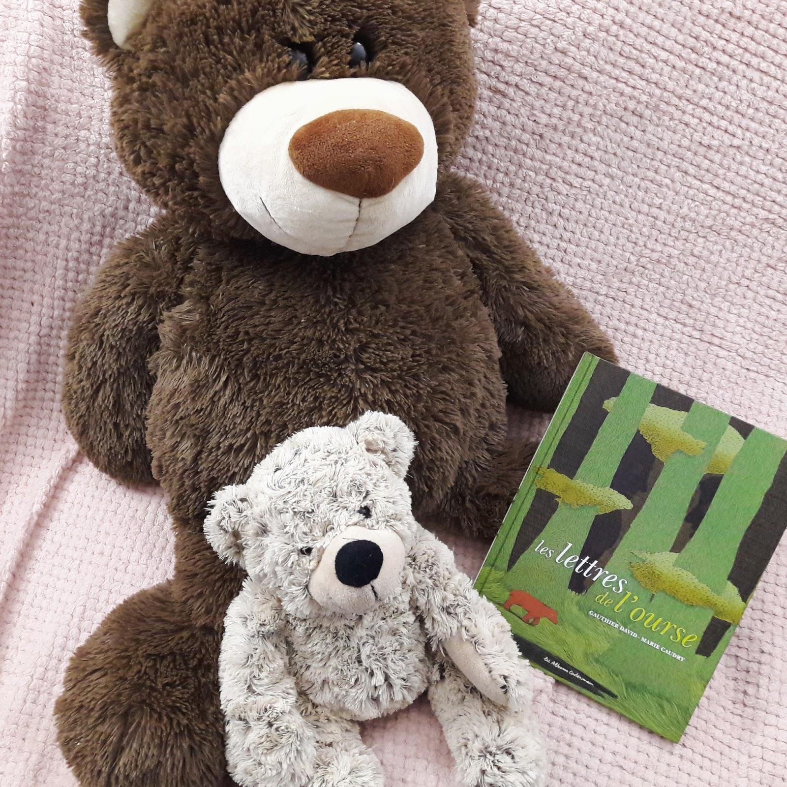 Les lettres de l'ourse de Gauthier David et Marie Caudry