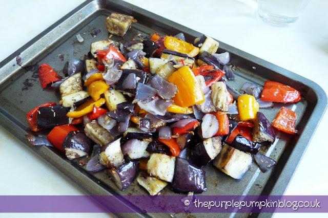 Roasted Vegetable & Orzo Salad