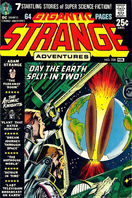 Strange Adventures v1 #228 dc comic book cover art by Neal Adams
