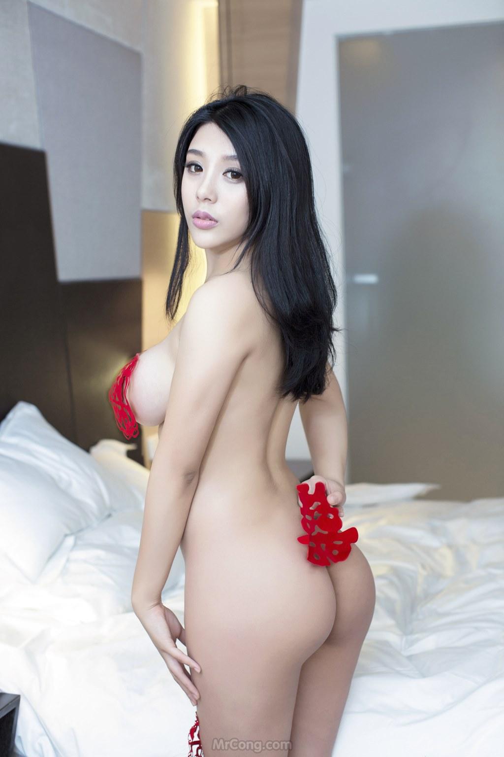 Image MrCong.com-UGIRLS-T009-nguoi-mau-trung-quoc-khoa-than-015 in post Ba người đẹp Trung Quốc khoe thân táo bạo trong bộ ảnh UGIRLS T009