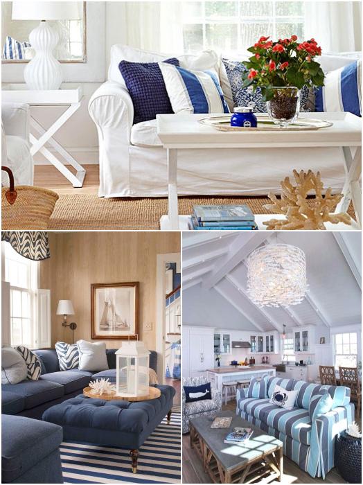 Sofa Ideas Coastal Living Room Design