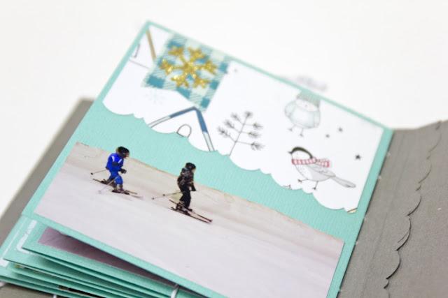 Fotoalbum selber machen Geschenkidee