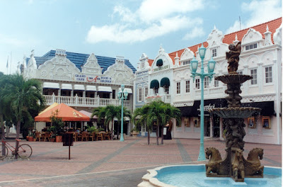 Aruba - Centre of Oranjestad
