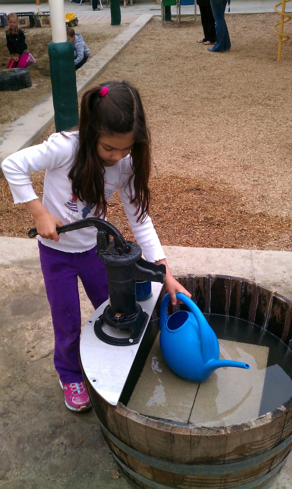 Exploring the Outdoor Classroom: Barrel Pumps in the ...