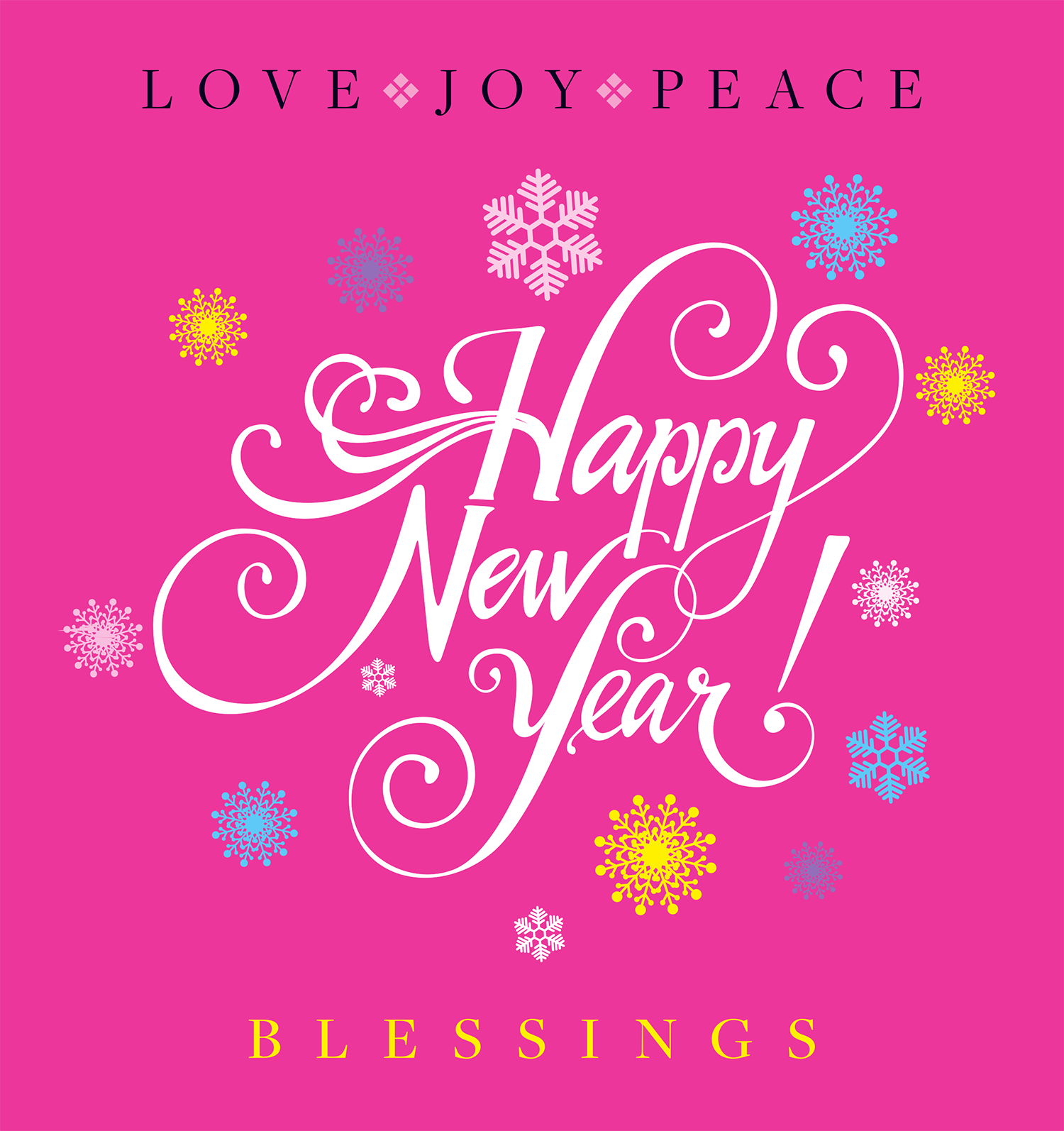 Love, Joy and Peas: Happy New Year Blessing, Update and ...