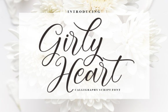Girly Heart Font