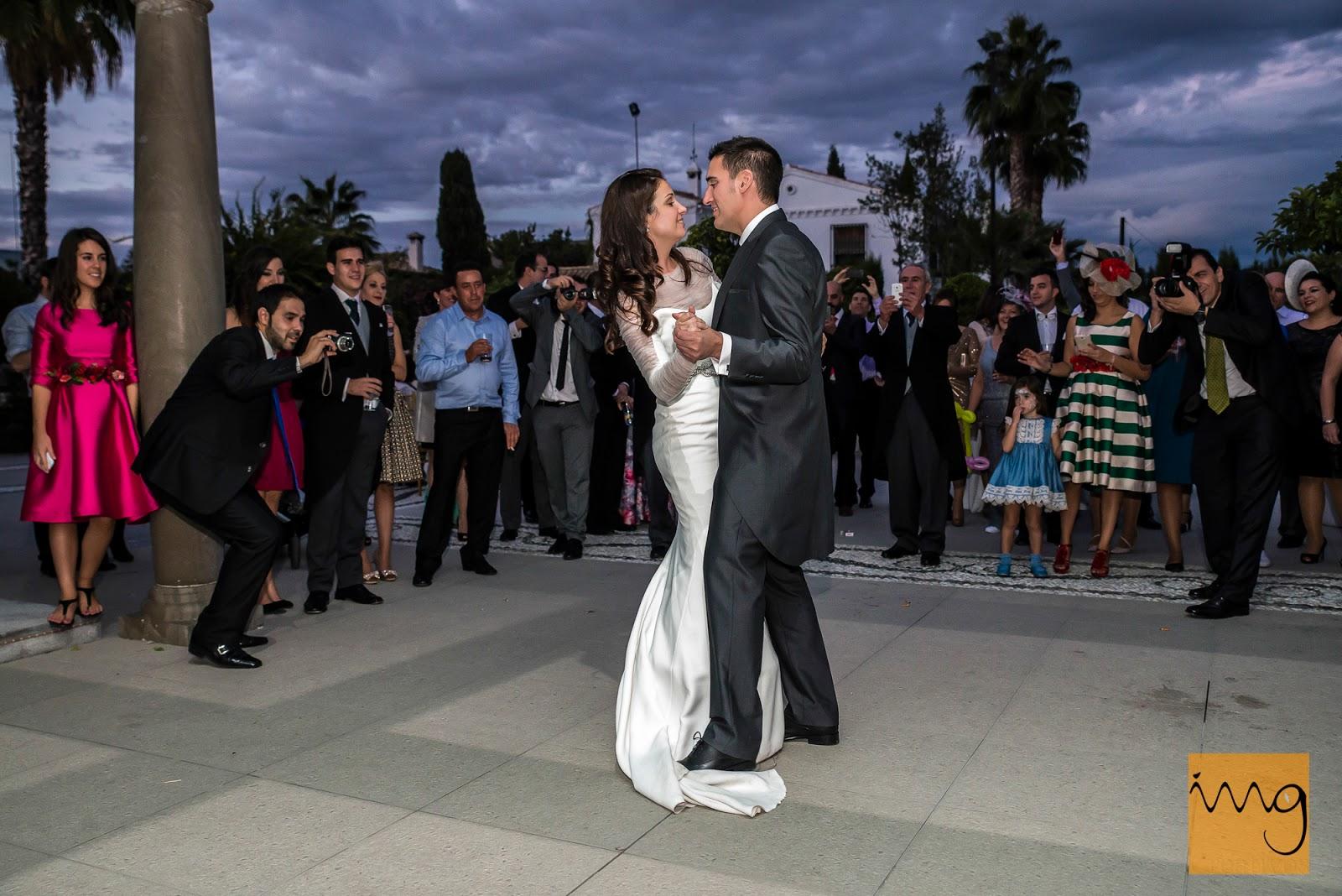 Fotografía de boda en Granada, el Baile de los novios