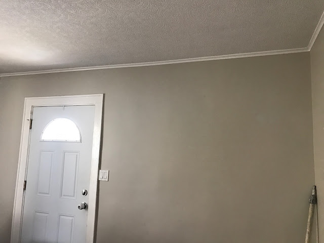 Living Room - Revere Pewter Wall