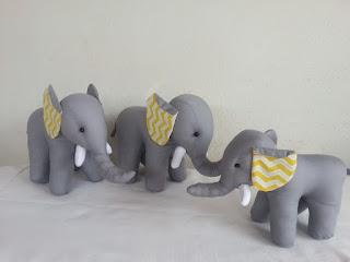 elefantinho para decoração