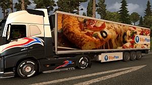 ETS2 Pizza trailer