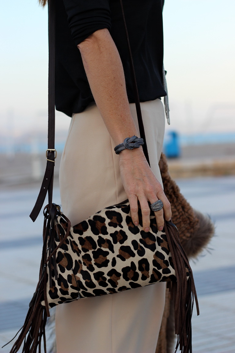 Streetstyle, palazzo, culottes, animal print, leopard print, blogger, fashion, cuchicuchi