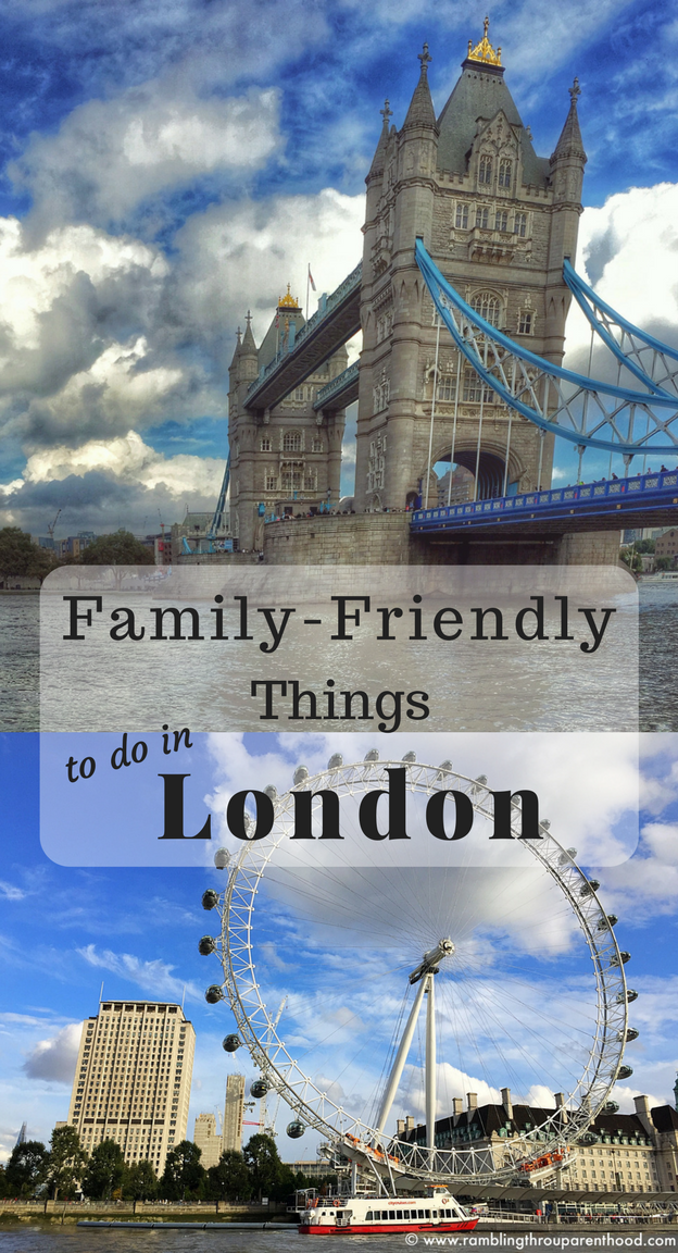 Family-Friendly Things To Do in London