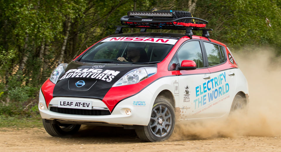 Nissan Leaf All Terrain Ev Charges Up For Mongol Rally W