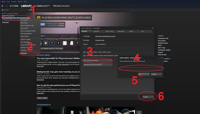 Hướng dẫn tăng FPS khi chơi Playerunknow's Battlegrounds