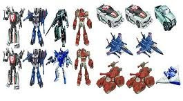TRANSFORMERS GENERATION DELUXE WAVE 8