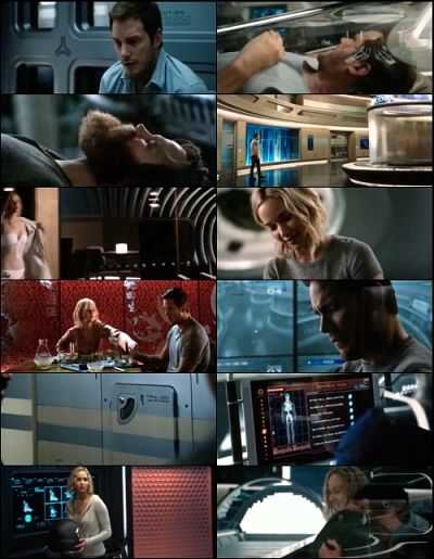 Passengers (2016) Hindi Dual Audio 300mb Movie Download HDCAM