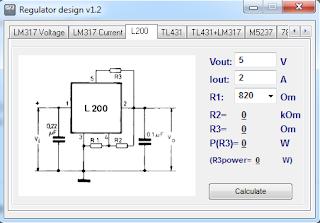Screensshot 3 : Regulator Design