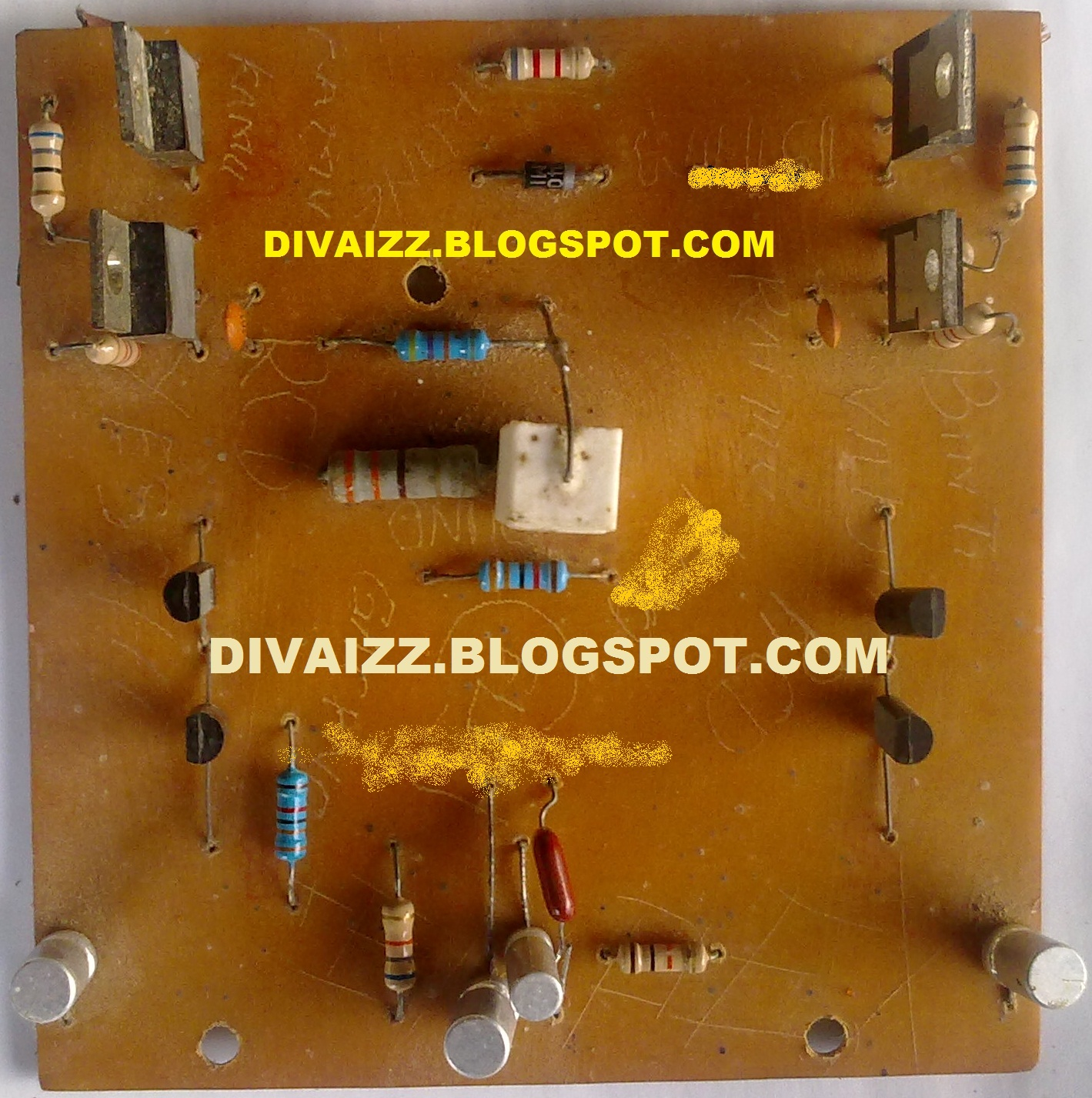 Cara Modifikasi Power Amplifier 600 Watt - www.divaizz.com